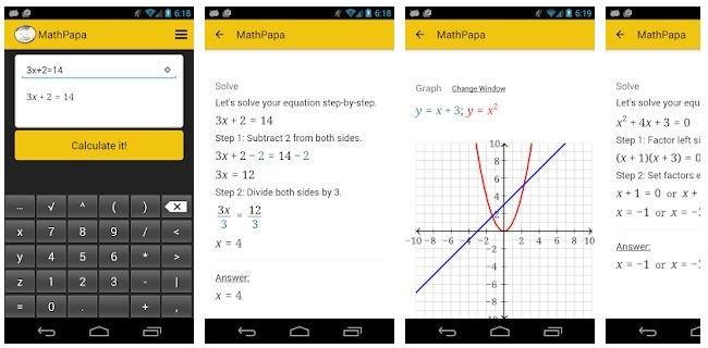 Aplikasi matematika android ios - mathpapa