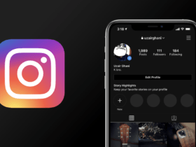 dark mode instagram